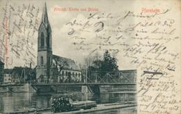 DE PFORZHEIM / Kirche Und Brücke / - Pforzheim