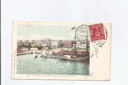 PUERTO RICO 6389 THE MARINA , FROM THE HARBOR, SAN JUAN 1905 - Puerto Rico
