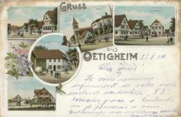 DE OETIGHEIM / Carte Multivues / - Deutschland
