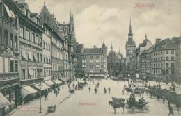 DE MUNCHEN / Marienplatz / - Muenchen