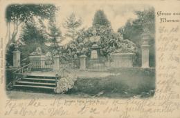 DE MURNAU / Denkmal König Ludwig II / - Germany