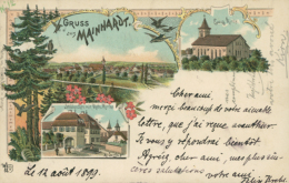 DE MAINHARDT / Carte Multivues / - Otros