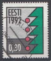 Estonie 1992  Mi.nr: 195 Weihnachten  Oblitérés - Used - Gebruikt - Estland
