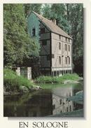 CPM En Sologne Le Moulin De Theil-sur-la-Sauldre Billy - Dernier Moulin De L'abbaye De Selles-sur-Cher - Unclassified