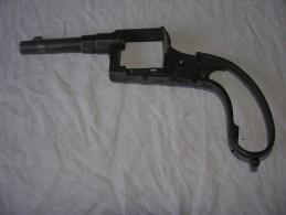 Carcasse De Revolver / Ancien Revolver / Revolver Du 18 ème Siècle / Ancien Revolver  Appelé Rich Revolver - Sammlerwaffen