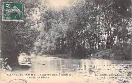 77 - CARNETIN : La Marne Aux Vallières : Un Coin De Pêche - CPA - Seine Et Marne - Autres Communes