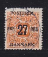 DENMARK, 1918, Used Stamp(s), Definitives, Overprint,   Mi 90, #10015, - Used Stamps