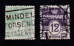 DENMARK, 1926, Used Stamp(s), Numbers,  Mi 166-167, #10026,  Complete - 1913-47 (Christian X)