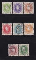 DENMARK, 1930, Used Stamp(s),Definitives, Christian X,  Mi 185=194, #10030,  8 Values Only - 1913-47 (Christian X)
