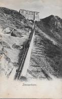 STANSERHORN-BAHN →  Alter Lichtdruck 1910  ►mit Hotel Stanserhorn Stempel◄ - NW Nidwald
