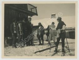 Megève 1928. Ski. - Lieux