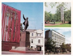 Russia - Tula - Monument To Lenin, Obelisk To The Soviet Power, Centra Post Office - Printed 1979 - 17.9x14cm - Monuments