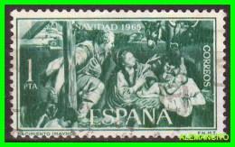 ESPAÑA  ( EUROPA )  SELLO  NAVIDAD  AÑO 1965 NUEVO - 1961-70 Nuevos & Fijasellos