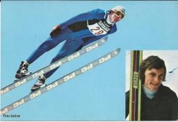 Sports.Winter Sports.Peter Leitner - German Former Ski Jumper. - Winter Sports