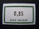 FICTIFS NEUF ** N°F151 SANS CHARNIERE (FICTIF F 151) - Phantomausgaben