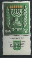 # 1955 - O - X - Gebruikt Of Met Spoor Van Scharnier Zonder Of Met Tab Zie Scan - Lot 351 - 7 Jaar Onafhankelijkheid - Oblitérés (avec Tabs)