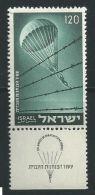 # 1955 - O - X - Gebruikt Of Met Spoor Van Scharnier Zonder Of Met Tab Zie Scan - Lot 352 - Parachutist - Oblitérés (avec Tabs)