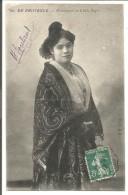 AMBULANT DE AVIGNON à SAINT RAMBERT SUR CARTE DU 18/9/1912 - Marcophilie (Lettres)