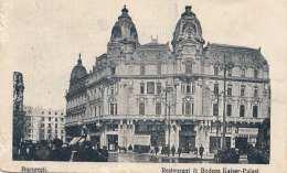 BUCARESTI (Rumänien) - Restaurant & Botega Kaiser-Palast, Fotokarte 192? - Rumänien
