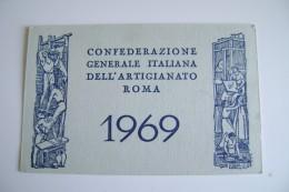1969  CONFEDERAZIONE GENERALE ITALIANA DELL' ARTIGIANATO ROMA  OTTICO MEDICO BARI - Documenti Storici