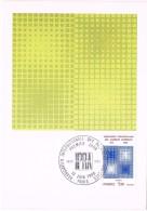 18931. Tarjeta Maxima PARIS 1980. Relations Publiques IPRA - Cartas Máxima
