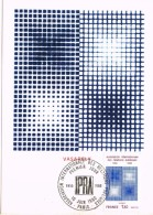 18932. Tarjeta Maxima PARIS 1980. Relations Publiques IPRA - Cartas Máxima