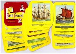 27 étiquettes Fromages LE PETIT FERMIER   Les Voiliers - Quesos