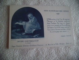 BELLE ILLUSTRATION ...FETE NATIONALE DES MERES. - Fête Des Mères