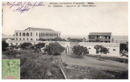 SENEGAL - DAKAR - Quartier De L'Etat-Major - Senegal
