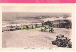 33 : LACANAU OCEAN , Entree De La Plage , Vieilles Voitures - Bourges