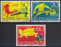 Liechtenstein 1969 Nº 466/68 Usado - Gebraucht