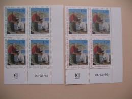2  Coins Datés   N° 576 -577  Trancheur De Morues   St-Pierre Et Miquelon - Neufs