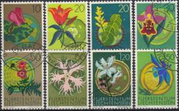 Liechtenstein 1970/71 Nº 469/76 Usado - Gebraucht