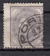 Portugal Effigie De Louis 1er 25r Violet Gris YT N°52 - Oblitérés