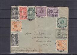 Congo  Belge -  Lettre De 1931 ° - Oblitération Lisala - Coiffes - Stanley - Expédié Vers La Belgique - Loncin Lez Ans - Belgian Congo