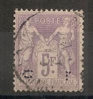 Perforé C.L 5F SAGE. TB TIMBRE ! - 1876-1898 Sage (Type II)