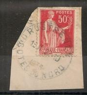 HOROPLAN ROSTRENEN Cote Du Nord. 1936 - Marcophilie (Timbres Détachés)