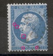 N° 22 A PLANCHER. Variétés. - 1862 Napoleon III