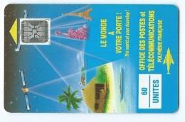 Telecarte Polynesie Francaise PF 4a Le Monde A Votre Porte - French Polynesia