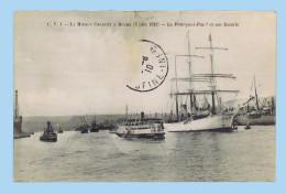 Cpa : Mission CHARCOT à ROUEN Le 5 Juin 1910. Le POURQUOI-PAS ? Et Son Escorte. Retour Du Pôle Sud. - Barche