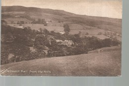 CPA, Royaume -Uni, N° 149 C. ,Derwent Hall From The Hills , Ed. R.B., - Andere