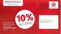 BRD Burgwedel Postaktuell -Alle- FRW 2016 Rossmann Drogeriemarkt - BRD