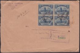 1929-H-17 CUBA REPUBLICA (LG-559) 5c CAPITOLIO SOBRE CERTIFICADO DE LA HABANA A MATANZAS. 1932. - Cuba