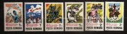Roumanie Romania 1982 N° 3382 / 7 ** Paix, Colombe, Soudeur, Tracteur, Agriculture, Chimie, Cinéma, Violon Danse Musique - Neufs