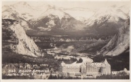 Canada - Bow Valley - Banff Springs Hotel - Carte-Photo - Banff