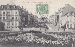Belgique - Ostende - Avenue Léopold Et Kursaal - Cachet Postal 1909 - Oostende