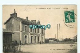 B - 44 - FIXE - SAINT ETIENNE DE MONTLUC - La Gare  - - Saint Etienne De Montluc