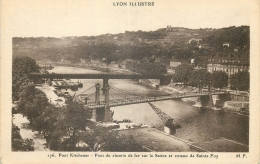 69 LYON ILLUSTRE PONT KITCHENER PONT DU CHEMIN DE FER - Lyon