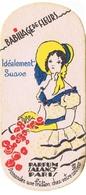 Carte Parfumée Marque SALANCY Babillage De Fleurs - Vintage (until 1960)