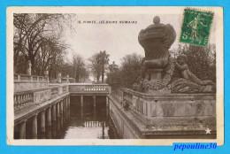 ** NIMES (Gard) LES BAINS ROMAINS ** 1911 ** - Nîmes